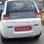 Mahindra REVA NXR rear spyshot