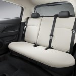 Mitsubishi Mirage rear seat