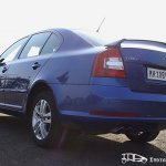 Skoda Laura vRS rear profile