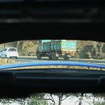 Skoda Laura vRS rear visibility