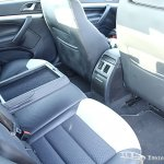 Skoda Laura vRS rear seats