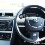 Skoda Laura vRS steering wheel