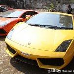 2012 Parx Supercar Parade  Lamborghini Gallarado
