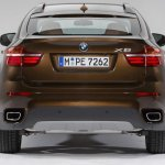 2013 BMW X6 rear profile