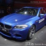 BMW M5 Delhi Auto Expo