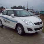 Maruti Swift Dzire 2012 front three quarters