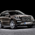 Mercedes GL-Class Grand Edition front three-quarters