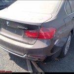 New BMW 3 series F30 rear