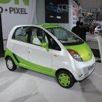 Tata Nano CNG concept front three quarters