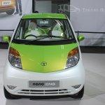 Tata Nano CNG concept front fascia
