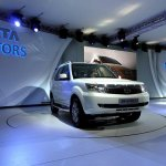 Tata Safari Storme at Delhi Auto Expo