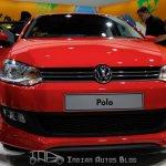 Volkswagen Polo at Delhi Auto Expo 2012
