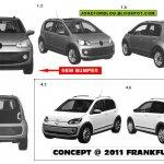 Volkswagen Up 5 door variant