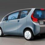 Tata eMO concept rear