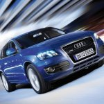 2009 Audi Q5 front fascia