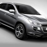 2012 Peugeot 4008 front three quarters