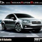 2013 Fiat Linea Facelift