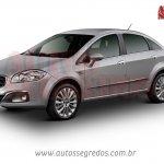 2013 Fiat Linea front