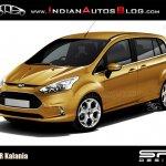 2013 Ford B-Max Long Wheelbase