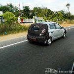 2013 Hyundai i20 rear spied in Chennai