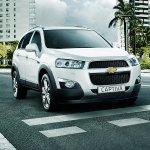 Chevrolet Captiva facelift India launch