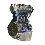 Ford Ecoboost engine 3cyl