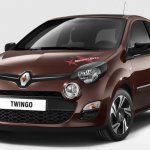 Front of the Renault Twingo Maboussin special edition for Europe