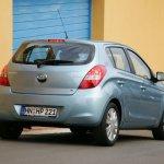 Hyundai i20 rear profile