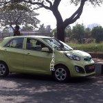Kia Picanto spied in Chennai