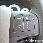 Mahindra Xylo E9 steering mounted controls
