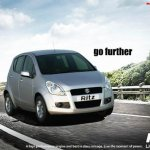 Maruti Suzuki Ritz front three quarters