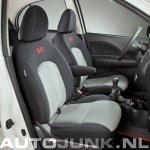 Nissan Micra SR Netherlands interior