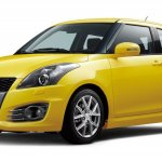 Suzuki Swift Sport 5dr front three quarters