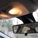 2012 Fiat Linea interiors rear view mirror