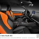 2013 Audi A3 at Geneva Motor Show 2012 interiors