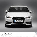 2013 Audi A3 at Geneva Motor Show 2012 front fascia