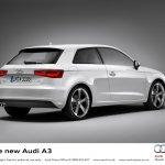 2013 Audi A3 at Geneva Motor Show 2012