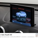 2013 Audi A3 at Geneva Motor Show 2012- MMI interface