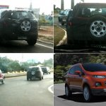 Ford EcoSport Brazil testing spied