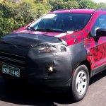 Ford Ecosport Brazil testing