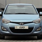 Hyundai i20 facelift front angle