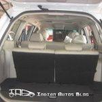 Mitsubishi Pajero Sport bootspace