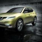 Nissan Hi-Cross Concept Geneva Motor Show front three-quarters