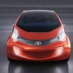 Tata Megapixel Concept LED headlights