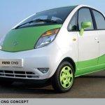 Tata Nano CNG Concept 2012 Delhi Auto Expo