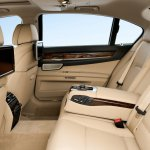 2013 BMW 7 Series rear seat comfort