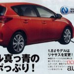 2013 Toyota Auris leak rear three quarters