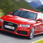 2015 Audi A4 rendering