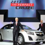 Chevrolet Cruze facelift at the Busan Auto Show