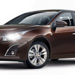 Chevrolet Cruze facelift from Busan Auto Show